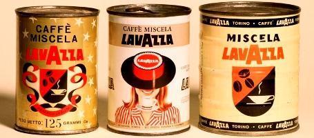 Первая расфасовка кофе в жестяные банки