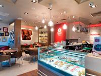 Кафе Lavazza на проспекте Мира и кофейня Lavazza Покровка