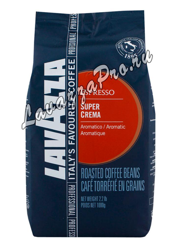 Кофе Lavazza (Лавацца) в зернах Super Crema