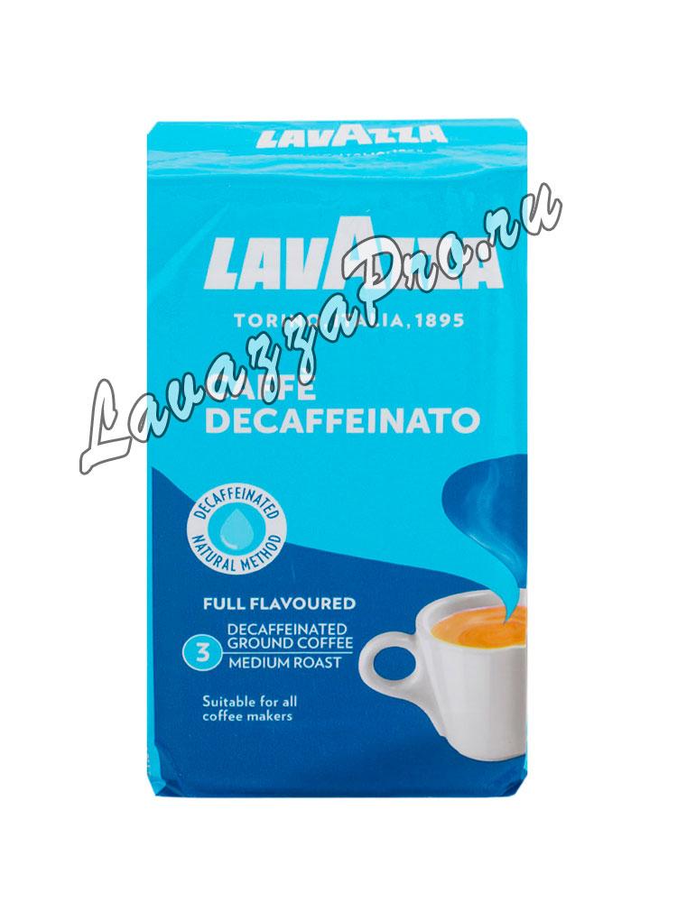 Кофе Lavazza (Лавацца) молотый Decaffeinato в/у