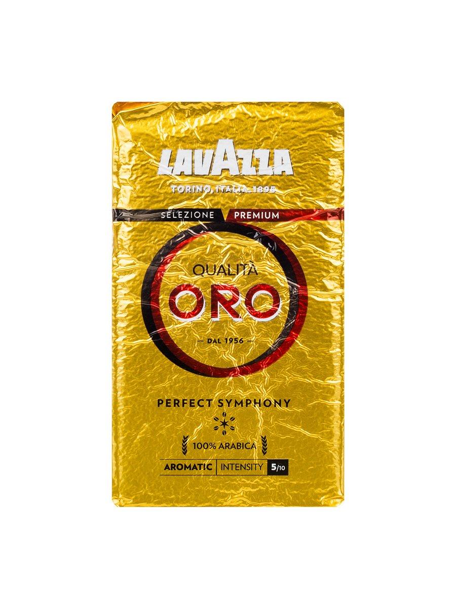 Кофе Lavazza (Лавацца) молотый Qualita Oro в/у