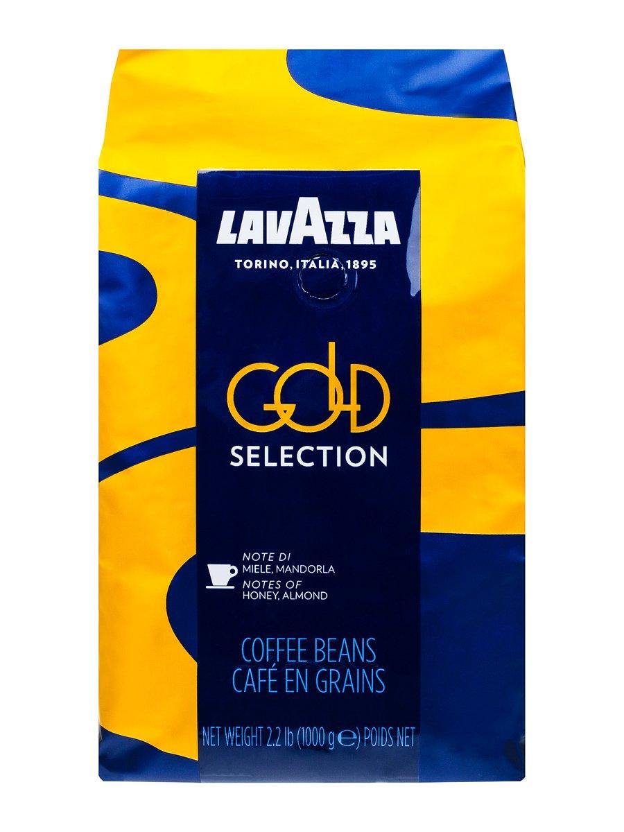 Кофе Lavazza (Лавацца) в зернах Gold Selection