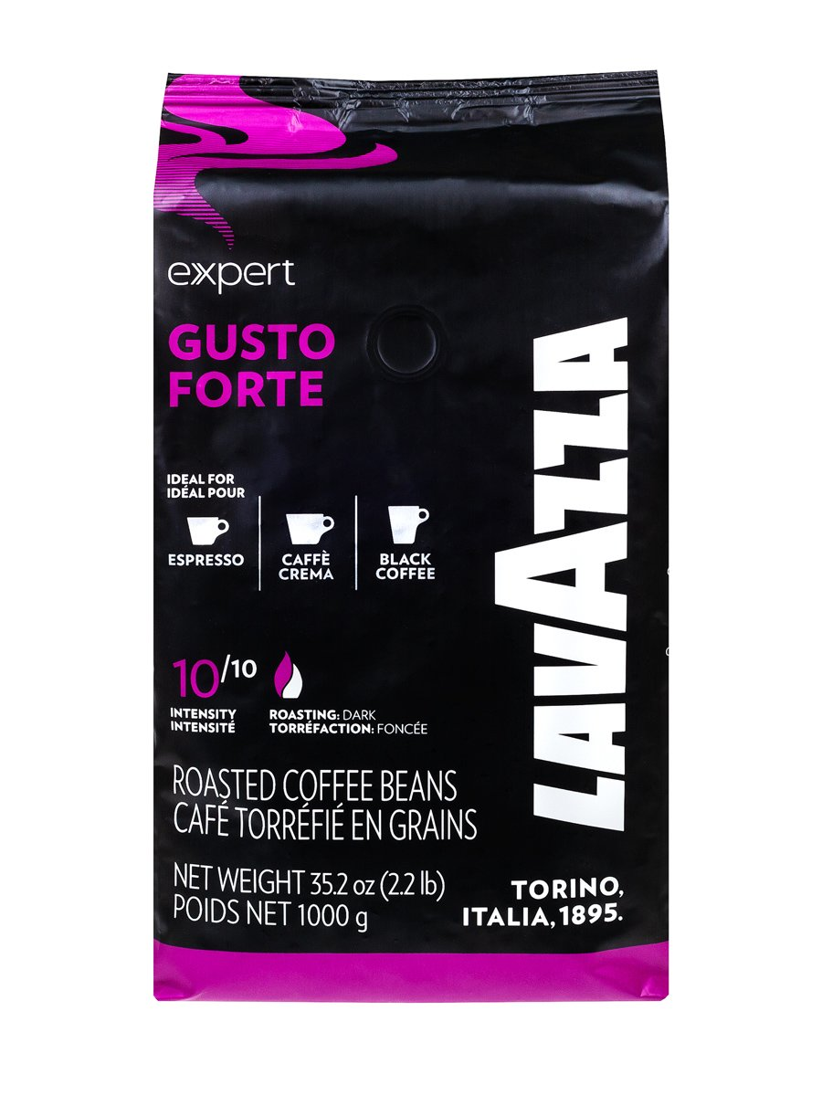 Кофе Lavazza (Лавацца) в зернах Espresso Vending Gusto Forte