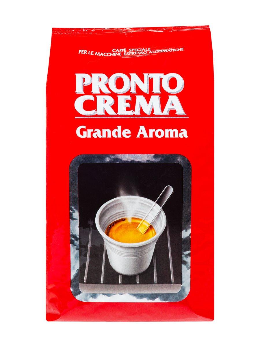 Кофе Lavazza (Лавацца) в зернах Pronto Crema Grande Aroma