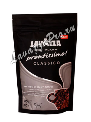 Кофе Lavazza растворимый Prontissimo Classic 80 гр