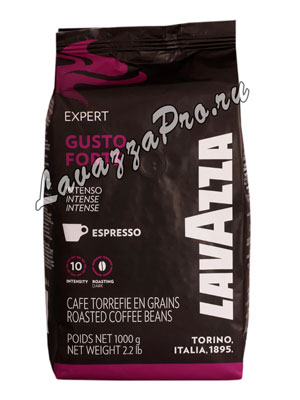 Кофе Lavazza в зернах Espresso Vending Gusto Forte 1 кг